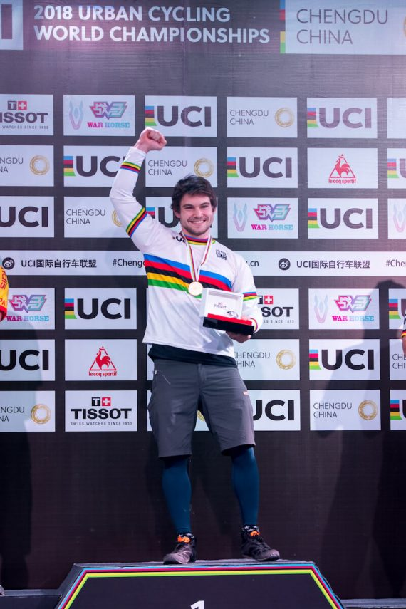 World Champion Thomas Pechhacker