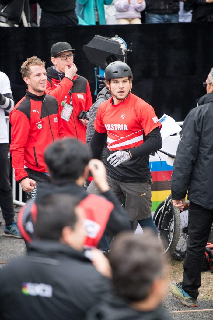 Moment Thomas Pechhacker became World Champion