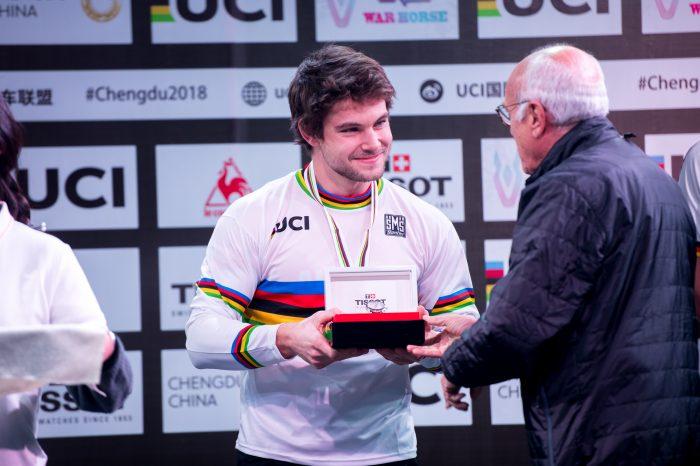 World Champion Ceremony Thomas Pechhacker